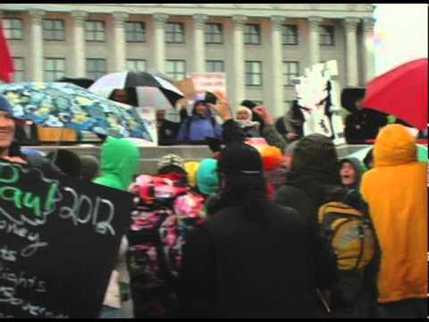 Occupy Wall Street comes to Salt Lake City