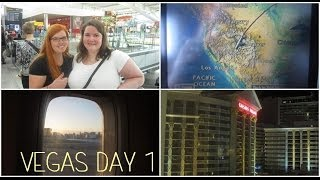 Honeymoon in Vegas: vlog day 1  ❤ June 10th 2014 (Getting there & Augustus Tower room tour) Thumbnail