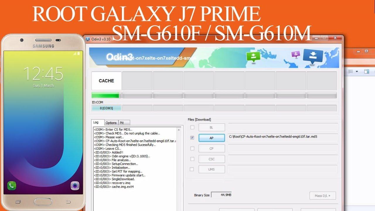 Root Galaxy J7 Prime SM-G610F | SM-G610M | Autoroot