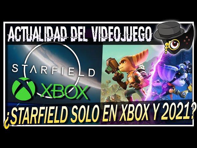 STARFIELD ¿EXCLUSIVO DE XBOX Y EN 2021?, METRO EXODUS ENHANCED, RATCHET AND CLANK E INSOMNIAC...