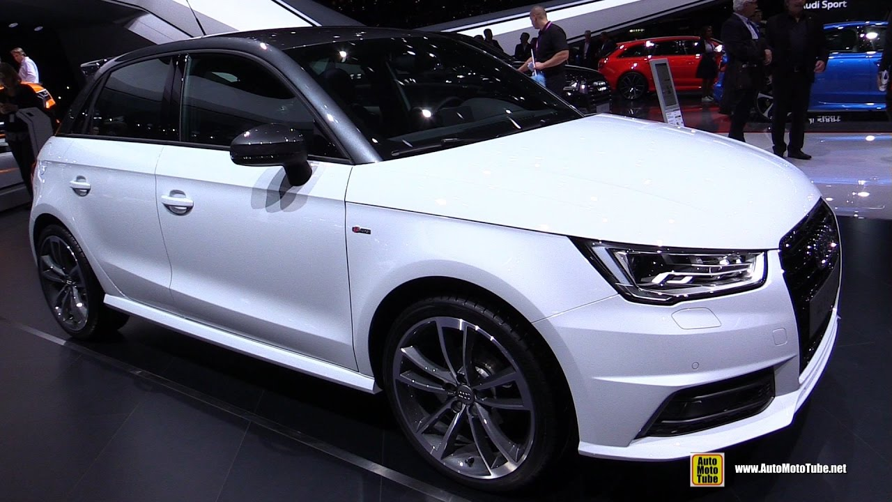 2017 audi a1 exterior walkaround 2017 geneva motor show youtube. Black Bedroom Furniture Sets. Home Design Ideas
