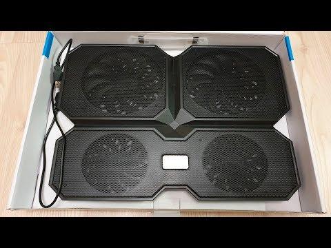 Подставка для ноутбука DEEPCOOL MultiCore X6 [Обзор]