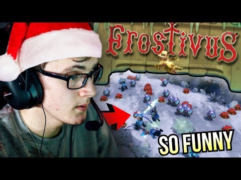 FROSTIVUS FESTIVAL - Miracle Playing Spesial Event First Time So Fun | Dota 2