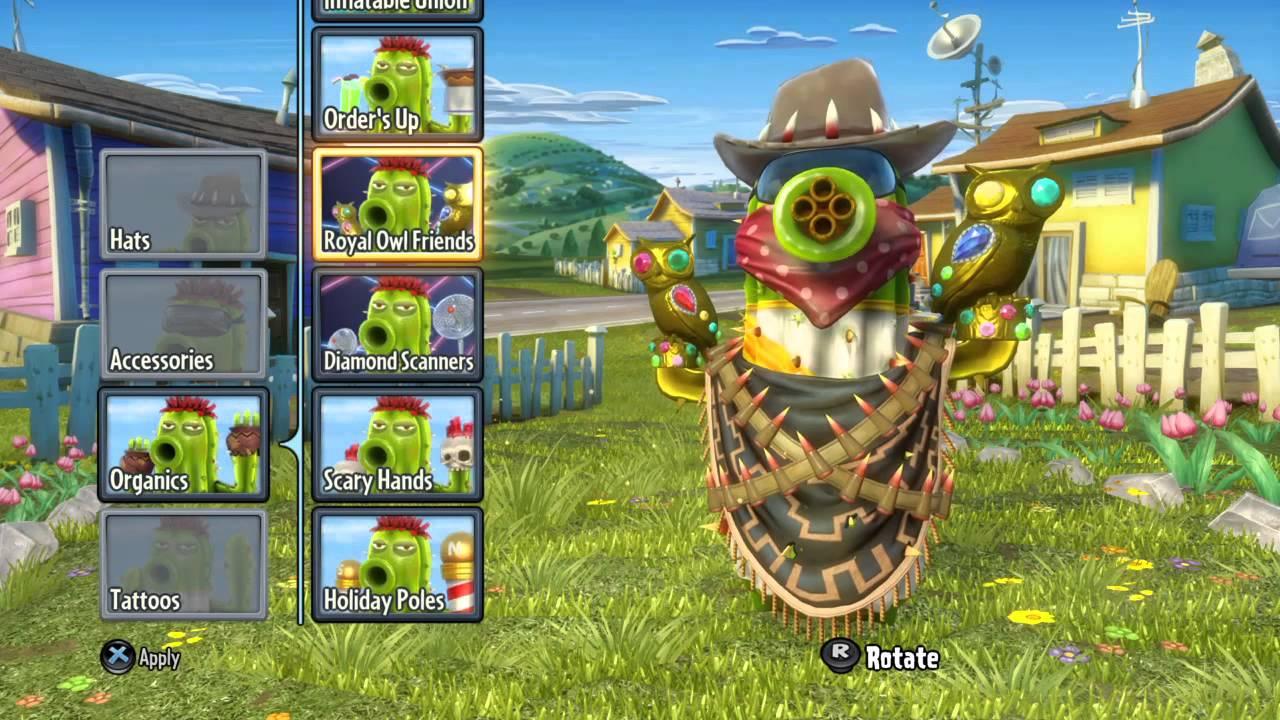 Plants Vs Zombies Garden Warfare   30 X Vanquish Streak W/ Bandit Cactus    YouTube