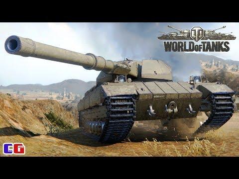 World Of Tanks Бой на Super Conqueror Танковые сражения WOT на канале Cool GAMES Реальный голос!