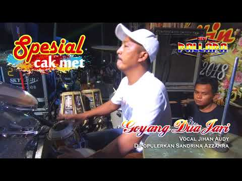 """GOYANG 2 JARI Enake Broo Full Kendang Cak Met """"LIRIK"""" JIHAN AUDY NEW PALLAPA"""