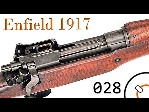Small Arms of WWI Primer 028: U.S. Rifle Model of 1917