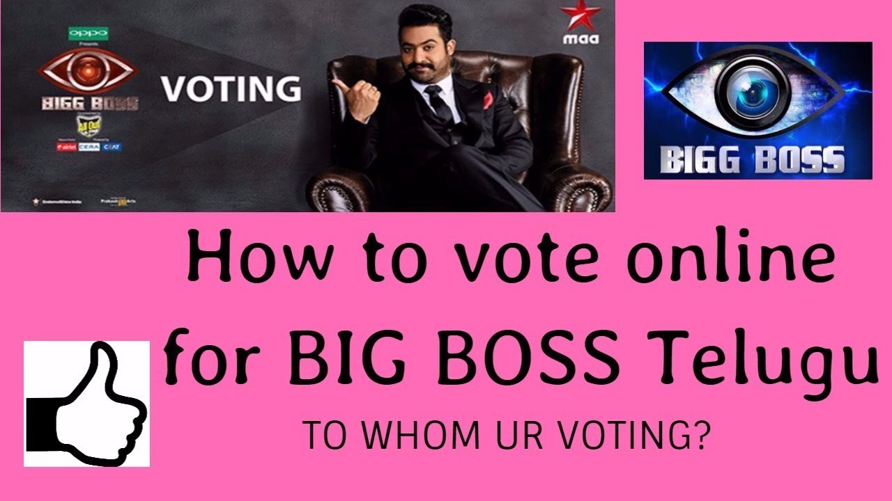 Colors website bigg boss 9 voting - How To Vote Online For Big Boss Telugu