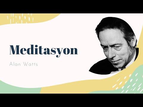 Meditasyon - Alan Watts - Zihni Uyandırmak