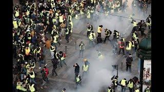 أردوغان عن أحداث فرنسا: انظروا ماذا تفعل شرطة هؤلاء الذين كانوا يهزأون بشرطتنا