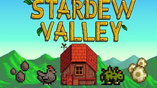 Hatching Void Egg & Dinosaur Egg - Stardew Valley