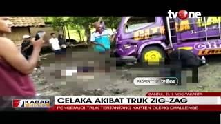 Gambar cover Tertantang 'Kapten Oleng' Challenge, Truk Hantam Dua Pelajar di Bantul, Yogyakarta