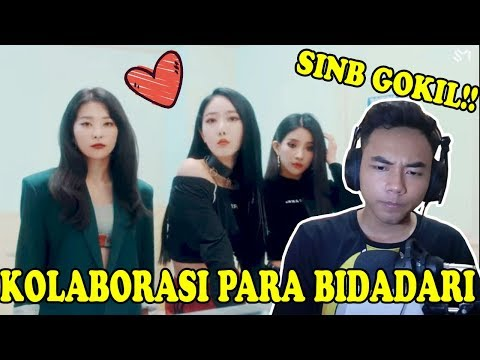 KOLABORASI BIDADARI - Seulgi X Sinb X Soyeon X Chungha - Wow Thing [MV] (Reaction) - Indonesia