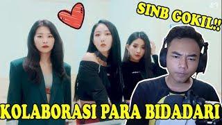 KOLABORASI BIDADARI - Seulgi x Sinb x Soyeon x Chungha - Wow Thing [MV] (Reaction) - Indonesia
