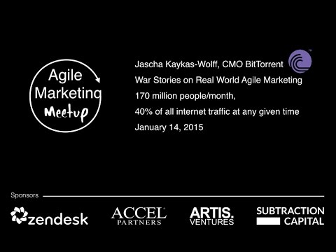 Agile Marketing Meetup - Jascha Kaykas-Wolff