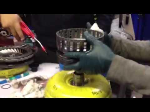 Re5ro5a torque converter air test