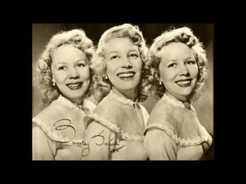 "The Beverley Sisters - "" Blow the Wind Southerly "" on 78rpm"