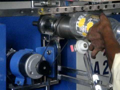 Semi Auto Round Printing Machine For Multi Colour