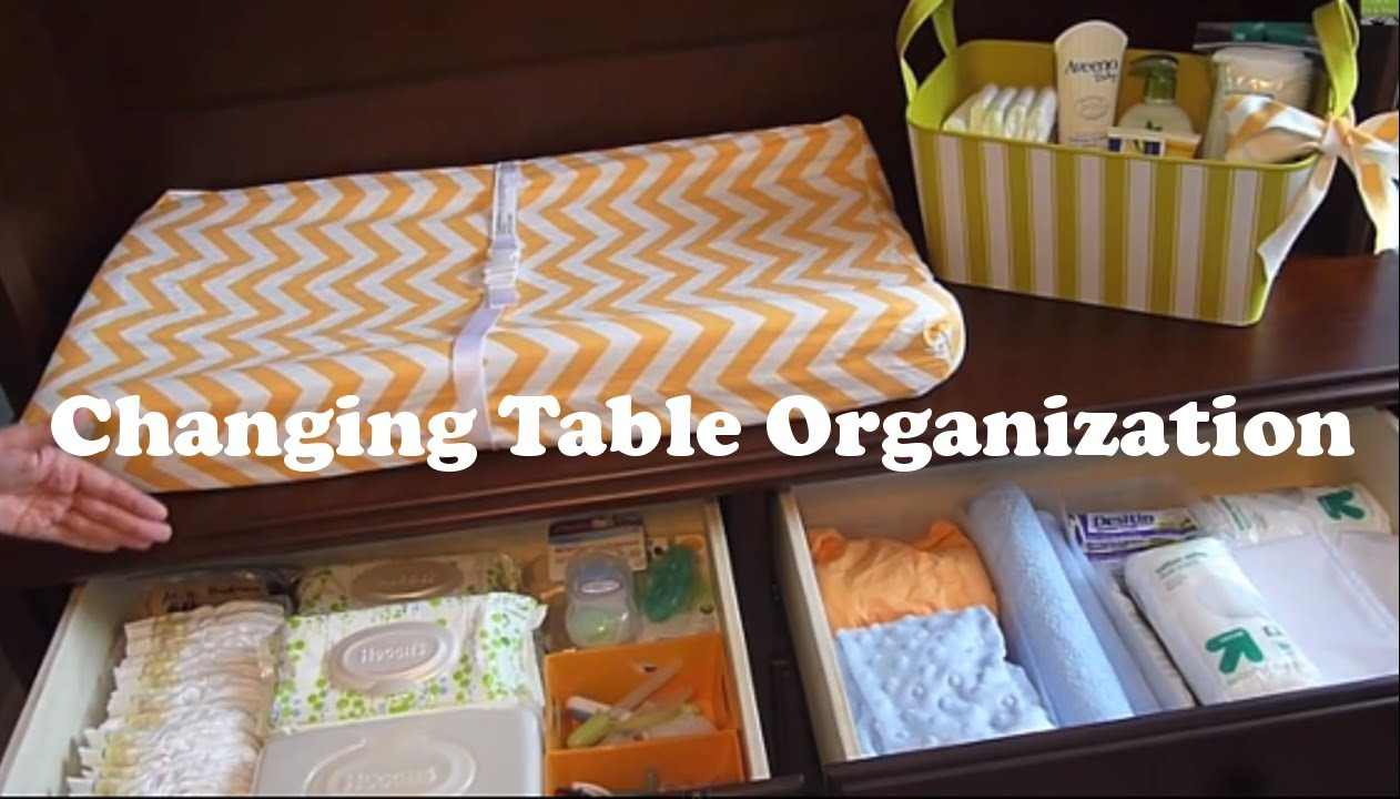 Changing Table Organization on a Budget How to organize a