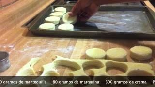 BISQUETES Técnicas básicas de panadería Chef Vargas México