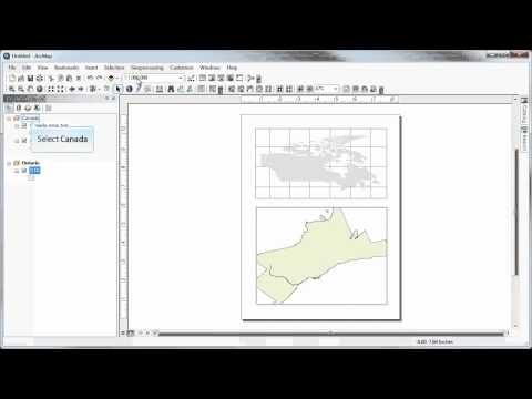 Data frames, map projections, and extent rectangles