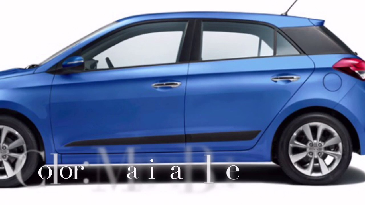 Hyundai Elite i20 2017 updated Colors - YouTube