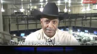 James Pickens Admires Bass Reeves