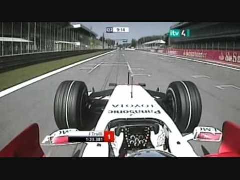 Jarno Trulli Qualifying Artistry!