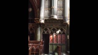 St Barnabas, Pimlico organist practising Ireland in C Gloria