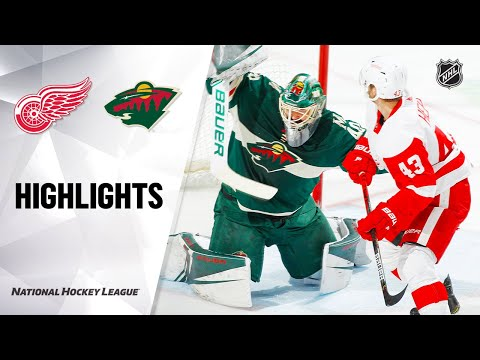 nhl-highlights-|-red-wings-@-wild-1/22/20