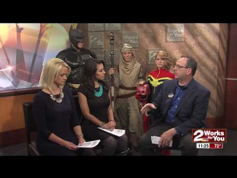 Pop Tulsa Kids hosting  Tulsa Pop Culture Expo