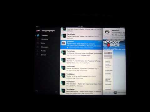 Twitter (Official) for iPad - AppSpark