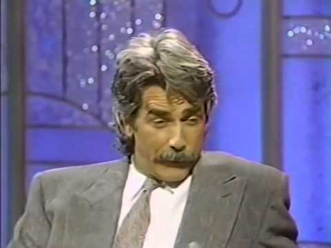 SAM ELLIOTT   ARSENIO HALL SHOW, 1989 {424}