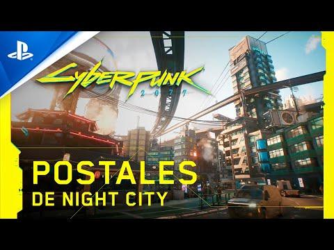 Cyberpunk 2077 - Postcards from Night City - Tráiler PS5 con subtítulos en ESPAÑOL | PS5