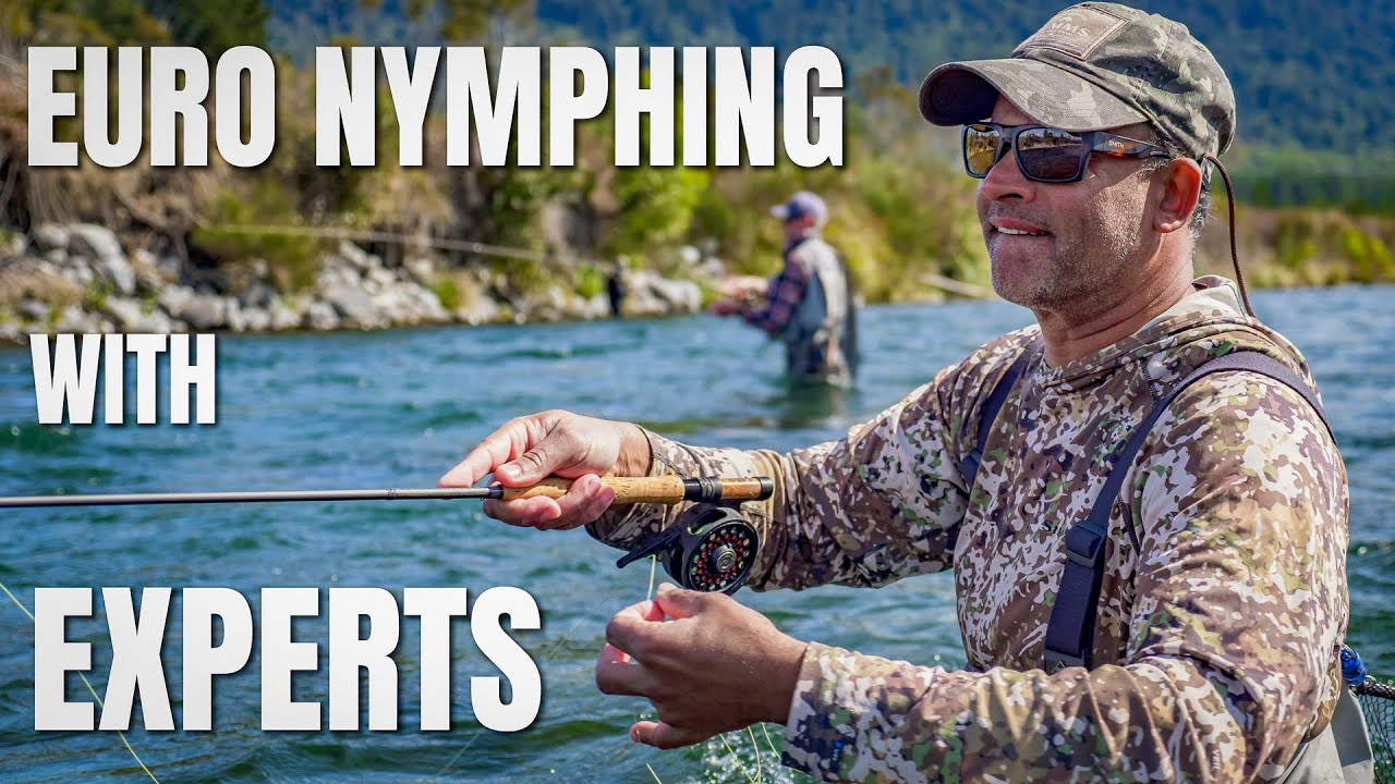 Euro Nymphing Techniques with Expert Competition Fly Fisherman Rob Vaz and Johnny Gummer