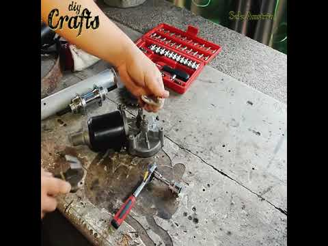 DIY Electric Winch Using Bicycle Parts And Wiper Motor_Credit_ PINOY DIY Builds