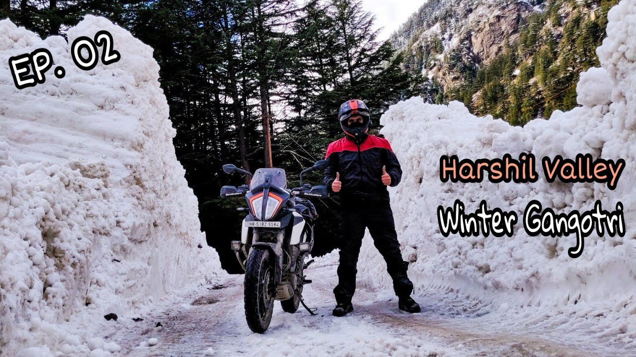 Download Adventure started in Harshil Valley | Snow Covered Roads on the way to Gangotri | Ep. 02