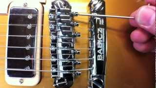 Babicz Full Contact Hardware Tune-O-Matic Installation