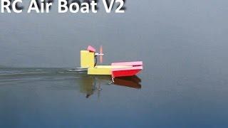 RC Airboat V2