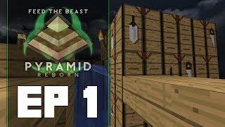 FTB Pyramid Reborn Ep 1   Cobble Crafting   Dolinmyster Plays FTB Pyramid Reborn