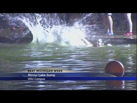 Mirror Lake jump