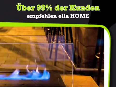 flame tischkamin philippi ella youtube. Black Bedroom Furniture Sets. Home Design Ideas