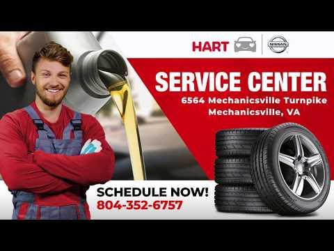 Hart Nissan Service Department Is Open | Mechanicsville VA Near Richmond Ashland