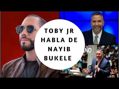 Increible Lo Que  Dijo El Pastor Toby Jr De Nayib Bukele