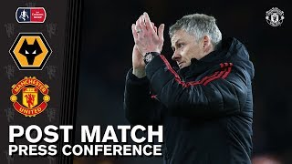 Post Match Press Conference | Wolves 2-1 Manchester United | Ole Gunnar Solskjaer