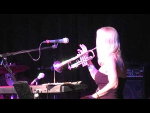 EUROPA - THE VEGAS ROAD SHOW- Barbara Christy plays trumpet and keyboards at the same time!