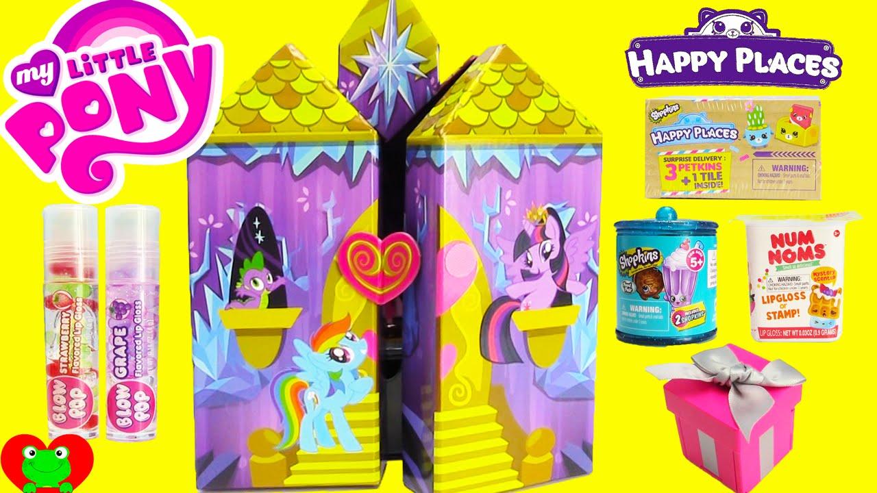 My Little Pony Twilight Sparkle Castle Jewelry Box with Shopkins