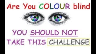 Colour Blind test in Bngladesh army