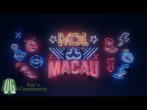 OG vs LGD - Game 1 - MDL Macau - Group Stage.