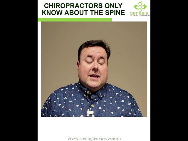 Myth: Chiropractors Only Know About The Spine